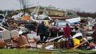 Rowlett Kasırgası Görüntülendi