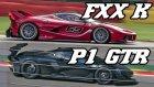 Motor Sesi Konusunda McLaren P1 GTR ile Ferrari FXX K Kapıştı