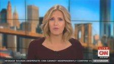 CNN Sunucusu Canlı Yayın Sırasında Bayıldı!