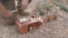 Semaverden Yapılmış Makineli Silah!