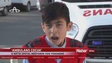 Ağzıyla Siren Sesi Çıkaran Ambulans Çocuk