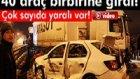 Kocaeli Gölcük'te 40 Araçlı Zincirleme Trafik Kazası: 13 Yaralı