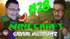 Minecraft (Türkçe) Survival Multiplayer : Bölüm 28 -  Rıfkı Ve Sezercik (/w Oyunsal TV)