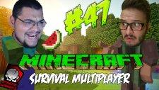 Minecraft (Türkçe) Survival Multiplayer : Bölüm 47 - TÜNEL YAPIYORUZ! (/w Oyunsal TV)