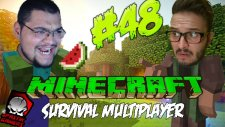 Minecraft (Türkçe) Survival Multiplayer : Bölüm 48 - Çok Laf Az İş! (/w Oyunsal TV)