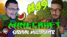 Minecraft (Türkçe) Survival Multiplayer : Bölüm 49 - Heykelimi Yaptılar! (/w Oyunsal TV)