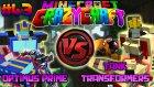 OPTİMUS PRİME SİNİRLENDİ! vs TANKA DÖNÜŞEN HARİKA TRANSFORMERS! - Minecraft Türkçe Crazy Craft : #43