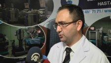 Robotik cerrahiyle böbrek nakli yapıldı