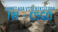 AHMET'E ZOOMSUZ HEADSHOT!! (1v1) - Counter Strike:Global Offensive w/Ahmet Aga