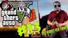 GTA 5 Türkçe Online PC : Bölüm 13 / Serbest Mod - Çarpışan Arabalar!