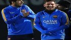 Messi'den Suarez'e Bacak Arası