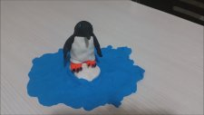 oyun hamuru penguen yapımı