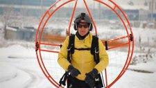 Paramotorla Kayak Yapan Çılgın Adam Konuştu