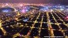 Peru'daki Yeni Yıl Akşamı Havai Fişek Gösterileri
