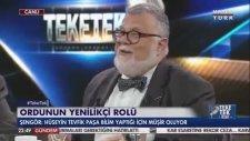 Abdülhamit'in H. Tevfik Paşa'yı Bilim Yaptığı için Mareşal Yapması - Celal Şengör