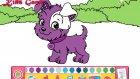 Çilek Kız Mükemmel Köpek & Doktor Boyama Kids Game