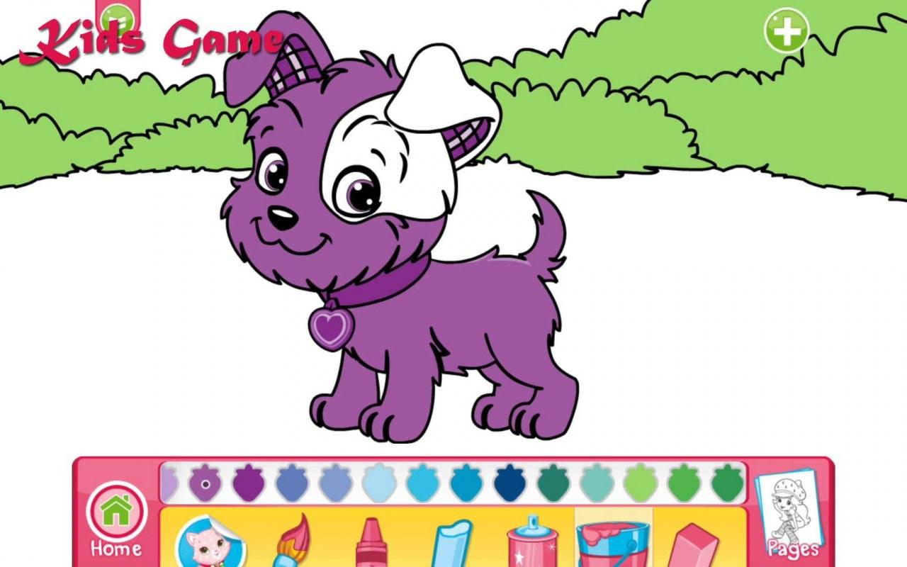 çilek Kız Mükemmel Köpek Doktor Boyama Kids Game Izlesenecom