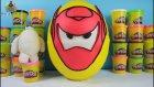 6 Süper Kahraman Big Hero 6 Baymax Dev Sürpriz Yumurta - Lego Çöps Çetesi Minecraft Yenilmezler