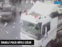 İsrail'de Trafik Polisinin Ezilme Anı