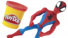 SPIDERMAN Play Doh STOP MOTION Video Surprise Cups Spider-Man Toys Collection