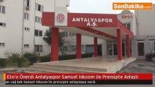 Eto'o Önerdi Antalyaspor Samuel Inkoom ile Prensipte Anlaştı