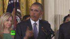 Tarihi Silah Kararını Açıklarken Ağlayan Obama