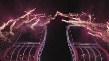 Yılbaşı gecesi Folkart İzmir'i aydınlattı!