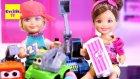 Barbie ve Ailesi Sergide | EvcilikTV Evcilik Oyunları