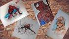 Çizgi Roman Kahramanı Çizim Serisi Spiderman #6 Challenge