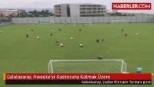Galatasaray, Kweuke'yi Kadrosuna Katmak Üzere