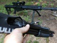 Tam Namlusundan 0.50 Kalibre Av Tüfeğini Vurursanız Ne Olur?