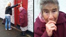 82 Yaşındaki Nine Rastgele Bir Kapı Çalıp Kaçıyor