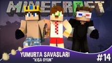 Minecraft Yumurta Savaşları -14- Kolay Oyun !