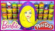 Oyun Hamuru Play Doh Barbie Dev Sürpriz Yumurta EvcilikTV