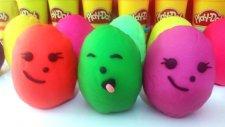 Oyun Hamuru Kaplı Sürpriz Yumurta ve Oyuncaklar