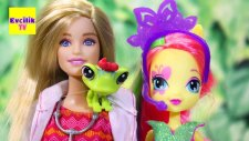 Fluttershy Veteriner Barbie de   EvcilikTV Barbie Oyuncakları