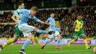 Norwich 0-3  Manchester City - Maç Özeti (9.01.2016)