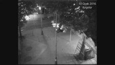 Kırşehir 'deki Deprem Güvenlik Kamerasına Böyle Yansıdı