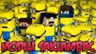 Minecraft : Modlu Saklambaç - MİNYONLAR MODU w/AzizGaming,Barış Oyunda