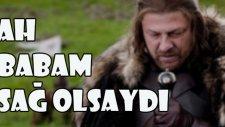 Yürekleri Parçalayan Jon Snow'dan Bir Türkü: Ah Babam Sağ Olsaydı