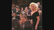 Leonardo Di Caprio'dan Lady Gaga'ya ilginç hareket