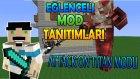 Minecraft : Eğlenceli Mod Tanıtımı : ATTACK ON TITAN MODU : 3D Manevra Teçhizatı !