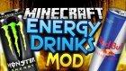 Minecraft : Eğlenceli Mod Tanıtımı : Enerji İçeceği Modu - Redbull,Mountain Dew,Monster
