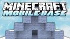 Minecraft : Eğlenceli Mod Tanıtımı - Mobile Base - Taşınabilir Ev !!