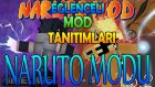 Minecraft : Eğlenceli Mod Tanıtımı : NARUTO MODU : JUTSULAR.ANİMASYONLAR VE CHAKRA [PART 1]