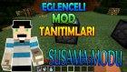 Minecraft : Eğlenceli Mod Tanıtımı : Susama Modu - Deniz Suları,Yağmur Toplayıcısı