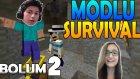 Minecraft : Zeynep'le Modlu Survival - Bölüm 2 - Michael Jackson Olmak .-.