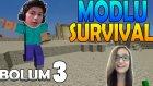 Minecraft : Zeynep'le Modlu Survival - Bölüm 3 - Çok Fazla Köy !!