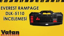 Everest Rampage DLK - 5110 Gaming Klavye İncelemesi