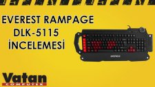 Everest Rampage DLK - 5115 Gaming Klavye İncelemesi